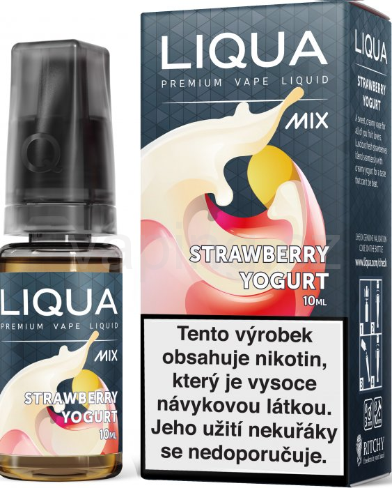 LIQUA MIX Strawberry Yogurt 10ml - 6mg