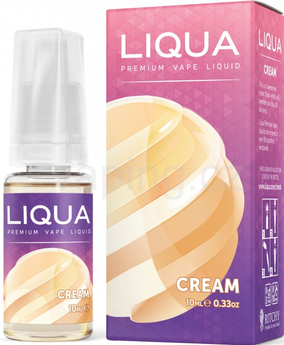 LIQUA Elements Cream 10ml - 3mg (Smetana)