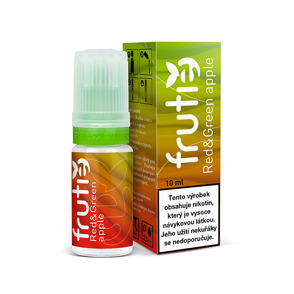 Frutie 70/30 Jablko (Red and Green Apple) 10ml - 5mg