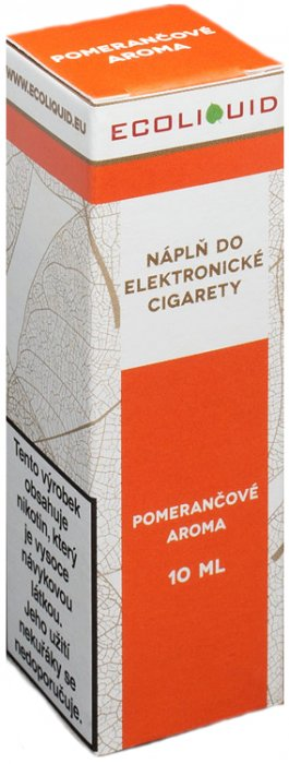 Ecoliquid Pomeranč 10ml 3mg