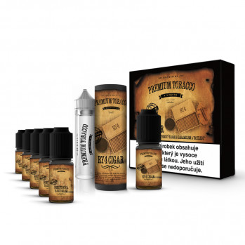 Premium Tobacco RY4 Cigar 6x10ml 18mg