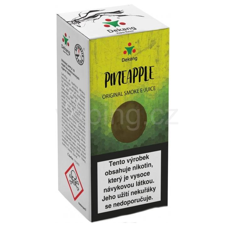 Liquid Dekang Pineapple 10ml - 6mg (Ananas)