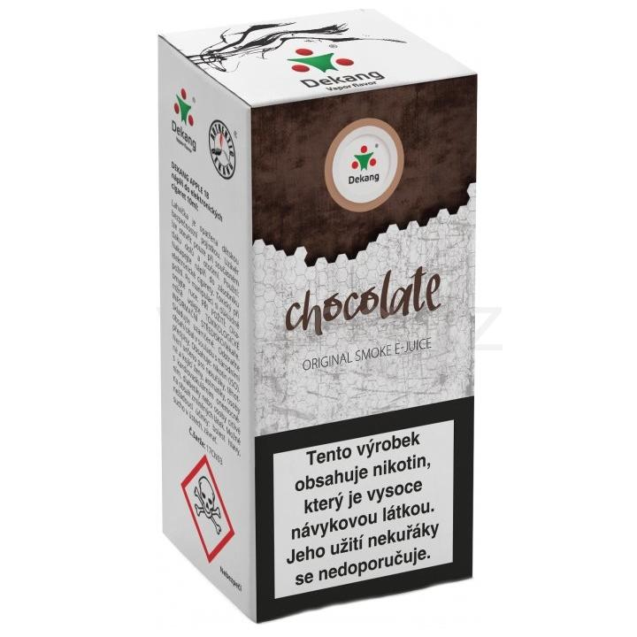 Liquid Dekang Chocolate 10ml - 11mg (Čokoláda)