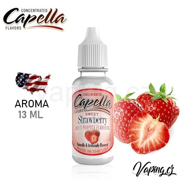 Capella Strawberry aroma (jahoda) 13ml