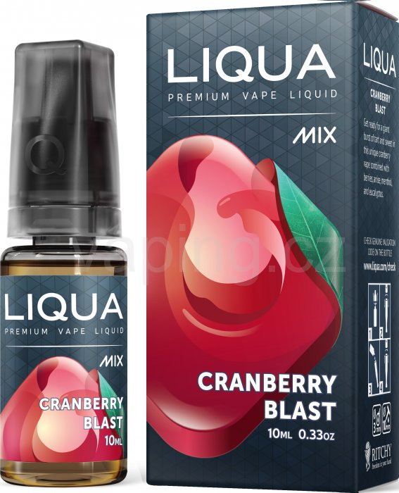 LIQUA MIX Cranberry Blast 10ml - 0mg