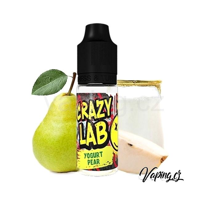 Aroma Crazy Lab - Yogurt Pear (hruškový jogurt) 10ml
