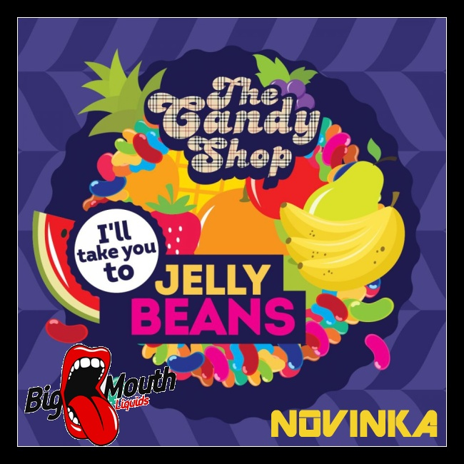 Big Mouth Candy - Jelly Beans (Želé bonbony)