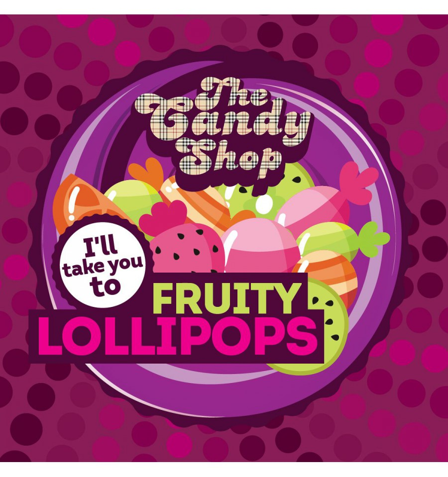Big Mouth Candy - Fruity Lollipops (Ovocné lízátko)