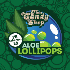 Big Mouth Candy - Aloe Lollipops (Aloe lízátko)