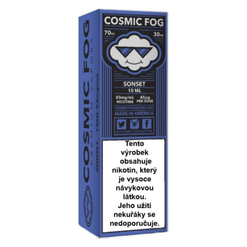 Cosmic FOG Sonset 10ml 12mg