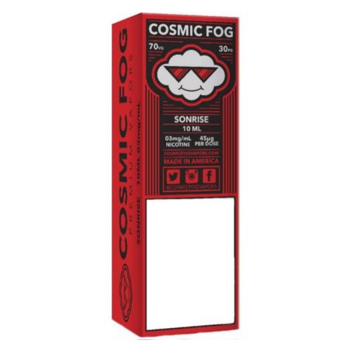 Cosmic FOG Sonrise 10ml 0mg