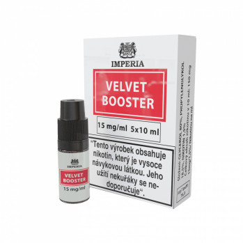 Booster báze Imperia Velvet (20/80) 5x10ml / 15mg