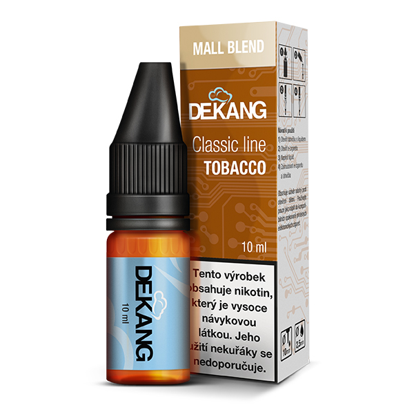 Dekang Classic Line Mall Blend 10ml 3mg