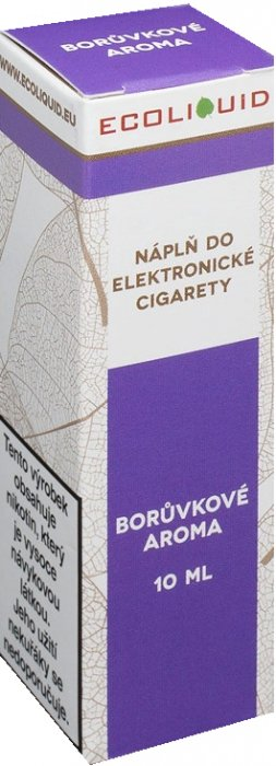 Ecoliquid Borůvka 10ml 0mg
