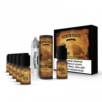Premium Tobacco Desert Ship 6x10ml 3mg
