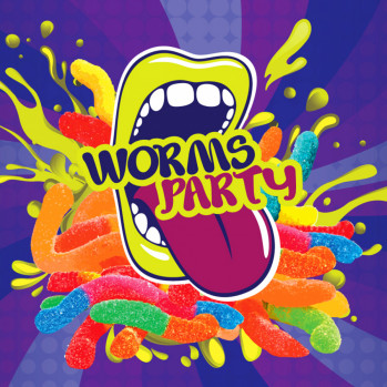 Big Mouth Worms Party (Kyselé žížaly)