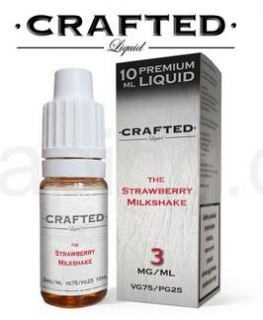 CRAFTED The Strawberry Milkshake 10ml 6mg