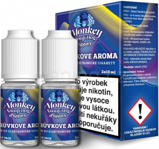 Monkey Dripper E-liquid 2x10ml (Borůvka) 2mg