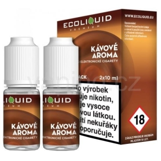 Ecoliquid e-liquid Káva (6mg) 2x10ml