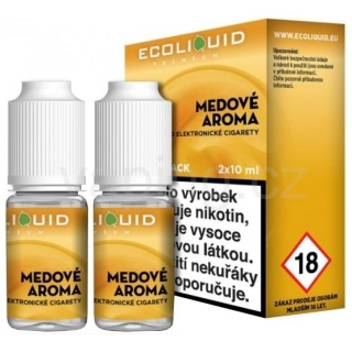 Ecoliquid e-liquid Med (6mg) 2x10ml