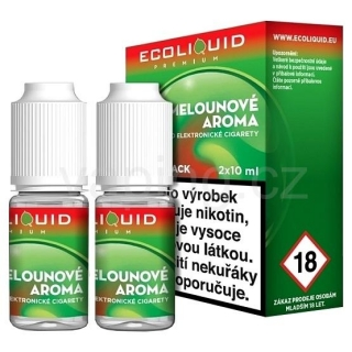 Ecoliquid e-liquid Meloun (6mg) 2x10ml