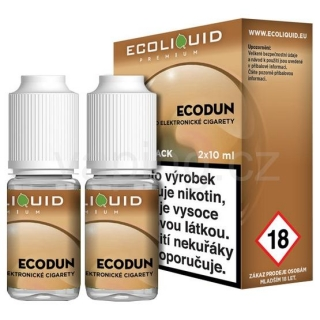 Ecoliquid e-liquid Ecodun (6mg) 2x10ml