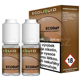 Ecoliquid e-liquid Ecodav (6mg) 2x10ml
