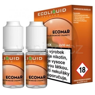 Ecoliquid e-liquid Ecomar (6mg) 2x10ml