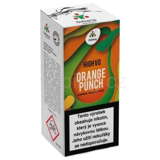 Dekang High VG Orange Punch 10ml (Sladký pomeranč) 3mg