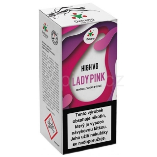 Dekang High VG Lady Pink 10ml (Borůvka s broskví) 6mg