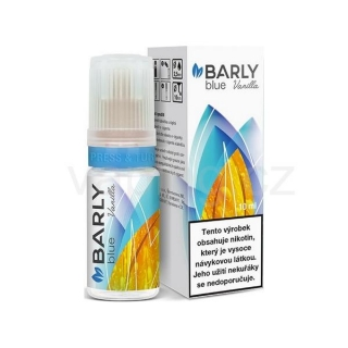 Barly BLUE Vanilla 10ml - 8mg