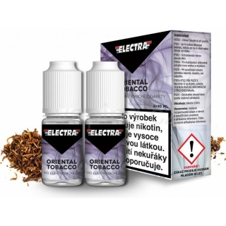 Electra Oriental Tobacco 2x10ml 6mg