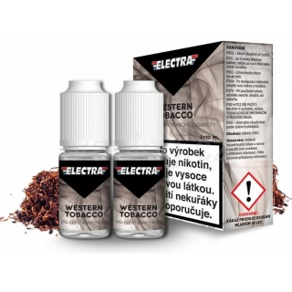 Electra Western Tobacco 2x10ml 6mg