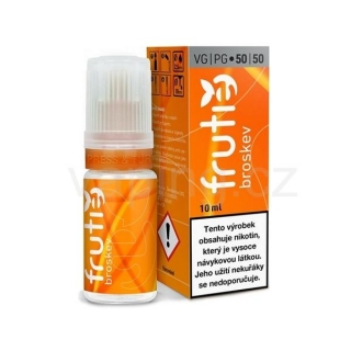 Frutie 50/50 Broskev (Peach) 10ml 0mg