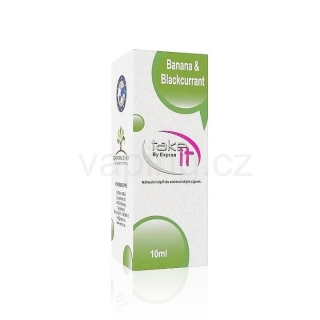 Take It e-liquid Banana & Blackcurrant 10ml (Banán a černý rybíz) 12mg