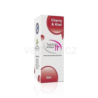 Take It e-liquid Cherry & Kiwi 10ml (Třešně a kiwi) 12mg