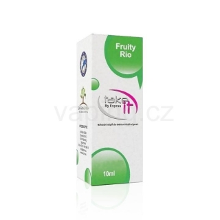 Take It e-liquid Fruity Rio 10ml (Mix exotického ovoce) 12mg