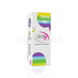 Take It e-liquid Sunny Mix 10ml (Letní mix bílými jahodami) 0mg