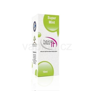 Take It e-liquid Super Mint 10ml (Sladká máta) 0mg