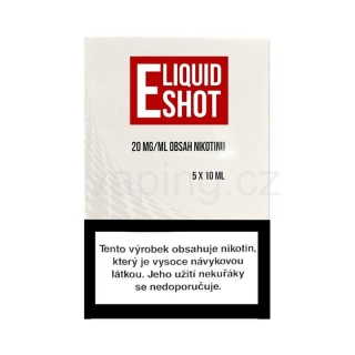 Booster Eliquid Shot Expran 5x10ml (nikotinová báze 50/50) 20mg