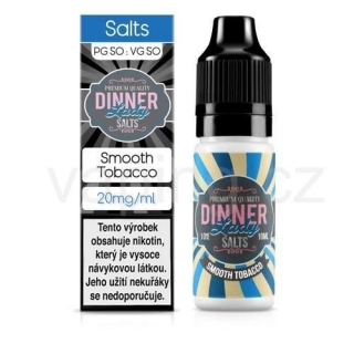 Dinner Lady Salt - Smooth Tobacco (Nasládlý tabák) 10ml/20mg