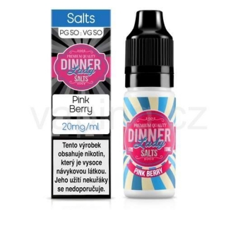 Dinner Lady Salt - Pink Berry (třešně a sladké citrusy) 10ml/20mg