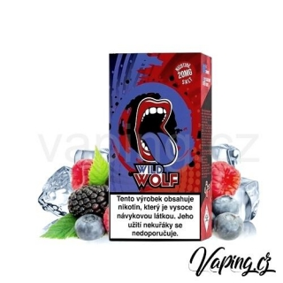 Big Mouth Salt e-liquid Wild Wolf 10ml (svěží divoké plody) 20mg