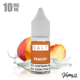 Juice Sauz Salt PEACHY 10ml (broskev, meruňka a smetana) 10mg