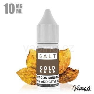 Juice Sauz Salt GOLD RUSH 10ml (tabák) 10mg
