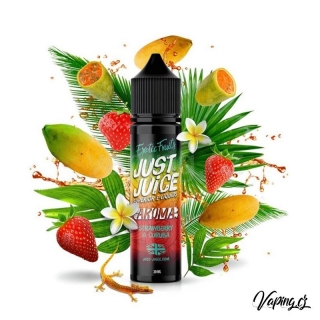 Just Juice aroma STRAWBERRY & CURUBA (jahoda a curuba) 60/20ml