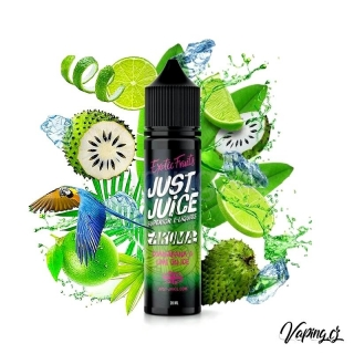 Just Juice aroma GUANABANA & LIME ON ICE (graviola, limetka a cooláda ) 60/20ml