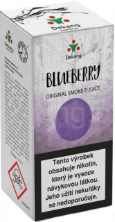 Liquid Dekang Blueberry 10ml - 6mg (Borůvka)