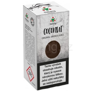 Liquid Dekang Coconut 10ml - 6mg (Kokos)
