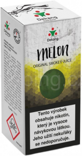 Liquid Dekang Melon 10ml - 6mg (Žlutý meloun)